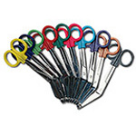 Scissors, Colorband, 5.5inch, Teal