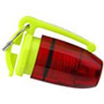 Flashlight, Pelican, Mini Flasher, Red LED, 1.75inch
