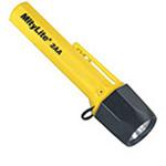 Pelican Mitylite Flashlight, 2AA, Yellow