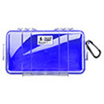 Pelican 1060 Micro Case, 8.25 inch x 4.25 inch x 2.25 inch, Solid Blue