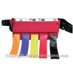 Triage Tape System Includes Red, Yellow, Green and Black Tape, Cordura Nylon Case