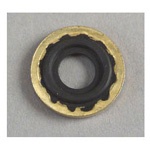 Yoke Seal Washer, Brass/Viton