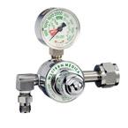 Oxygen Pressure Gauge Regulator, M1 Series, Single Series, CGA-540, Nut and Nipple Inlet