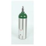 Oxygen Cylinder, Aluminum, w/Toggle Valve, Jumbo Size D