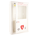 AED Cabinet, Semi-Ressess, Audible Alarm, Flashing Lights