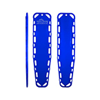 Ultra-Vue 16 Backboard, 72inch x 16inch x 1 3/4inch, Without Pins, Blue
