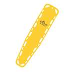 Ultra-Vue 16 Backboard, 72inch x 16inch x 1 3/4inch, Without Pins, Yellow