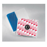 Red Dot Monitoring Electrodes w/Foam Tape and Sticky Gel, 50/Bag
