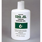Cool Jel Topical Cooling Gel, 4oz Squeeze Bottle