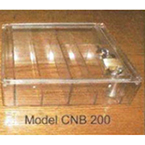 Narcotic Box, Clear Top with Lock, 6.25inch W x 7.25inch L x 2.125inch H