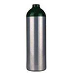 Aluminum Jumbo D Oxygen Cylinder w/Z Valve