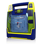 New Cardiac Science Powerheart G3, Semi-Automatic w/CPR Coach, Battery, Pads and Case, 7-Year Warranty