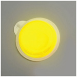 Lightshape Circle Marker, Cyalume, 4-Hour, 3inch, Yellow