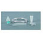 Nebulizer Kit, Disposable, w/Anti-Drool T, Mouthpiece, 6inch Reservoir Tube and 7 foot Supply Tube