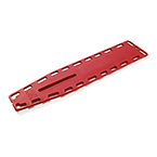 Ferno Najo Lite Backboard, Without Pins, Red
