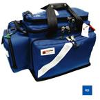 Trauma/Oxygen Deployment Bag, 23inch L x 13 1/2inch W x 14inch D, Royal Blue, Fluid Resistant