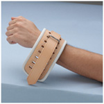 Posey Leather Cuff, 5-12inch  Circumference