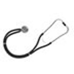 Legacy Sprague Rappaport-Type Stethoscope, Boxed, Adult, Black