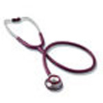 Signature Series Stethoscope, Adult, Stainless Steel, Black