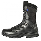 5.11, Boots, EVO, 8 inch Side Zip, Waterproof, Men, Black, 4/R