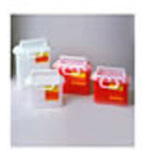 *Limited Quantity* Sharps Container, Horizontal Entry, 15 3/4inch x 13 1/2inch x 6inch, 3 Gallon, Red