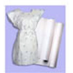 Exam Table Barrier, Crepe Roll, Disposable, 21inch x 125 Foot, White *Limited QTY*