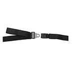 Model 430 Series Cot Restraint Straps, 5ft, 2 pc, Black