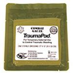 QuikClot Combat Gauze Trauma Pad, 12in x 12in *Limited QTY*