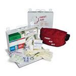 Standard #25 First Aid Kit w/Gasket, Plastic, 9 3/16inch x 6 1/2inch x 2 3/4inch