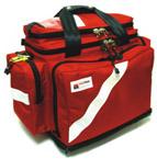 BLS Trauma Deployment System, 21inch L x 11 1/2inch W x 15inch D, Red, w/o Modules