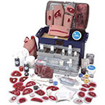 Deluxe Casualty Simulation Kit, with Carry Case