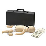 ALS Baby Manikin, w/Carry Case, with HeartSim