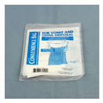 Containment Bag, Clear Graduated w/o Hand Protection, Rigid Collar, Inner Seal, 1000cc, 240/Case *Discontinued*