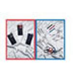 Colormed Holster Set, w/Shears, Bandage Scissors, Kelly and Splinter Forceps, Penlight, Red