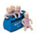 Baby Anne, Soft Carry Case, Single Pack, Blue*Discontinued*