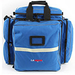 LA Rescue Pediatric ALS Attack Pack, 20inch L x 18inch W x 11inch H, Royal Blue