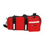 LA Rescue Omega D-Sleeve, 23inch L x 8inch W x 9inch H, Red