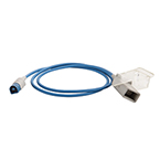 SpO2 Adapter Cable, 3.3 foot, for Nellcor SpO2 Sensors