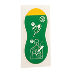 First Generation Q-CPR Compression Sensor Adhesive Pads, Disposable, Green, Adult *Limited QTY*