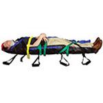 Air Transport Vacuum Spine Board Set, 8 Handles w/Ribs incl Case and Pump, 7 Feet