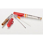 Decompression needle, 14ga x 3.25in, w/Protective Case