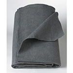 Blanket, Disposable, 100% Polyester, Gray, 40inch x 80inch
