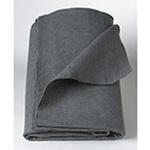 Curaplex Blanket, 100% Polyester, 40in x 80in, Gray