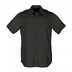 5.11, Shirt, PDU Twill Class A, Short Sleeve, Men, Black, XL/TALL