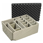 Pelican 1605 Padded Divider Set Kit, Nylon and Foam, Velcro Allows Changes in Size