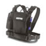 Tool Chest Radio Chest Harness, Cordura Nylon, Black