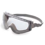 Uvex Stealth Goggles, Anti-fog Clear Lens, Teal/Gray Frame