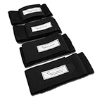 Replacement Leg Strap Set, Adult, incl 4 Straps for Thigh/Calf Area of the Hare Traction Splint