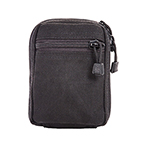 TITANCARE MOLLE POUCH SMALL, BLACK,  Made in USA