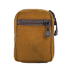 TITANCARE MOLLE POUCH SMALL, COYOTE BROWN,  Made in USA